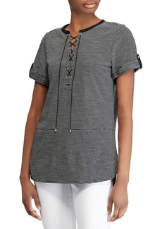 Lauren Ralph Lauren Lace-Up Tunic