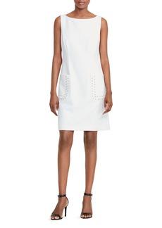 Lauren Ralph Lauren Lacing-Detail Dress