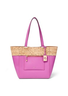 Lauren Ralph Lauren Lauryn Faux Leather Tote