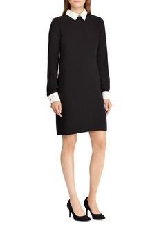 Lauren Ralph Lauren Layered Crepe Dress