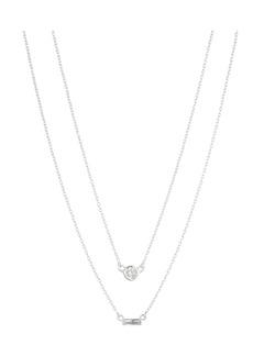 """Lauren Ralph Lauren Layered Double Row Necklace, 16-18"""""""