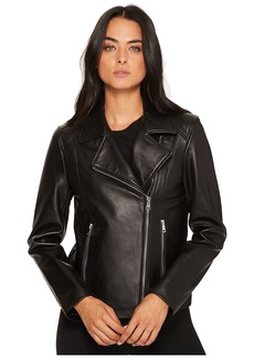 Ralph Lauren Leather Moto