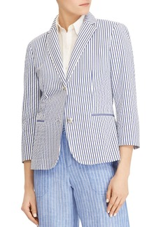 Lauren Ralph Lauren Lightweight Striped Blazer