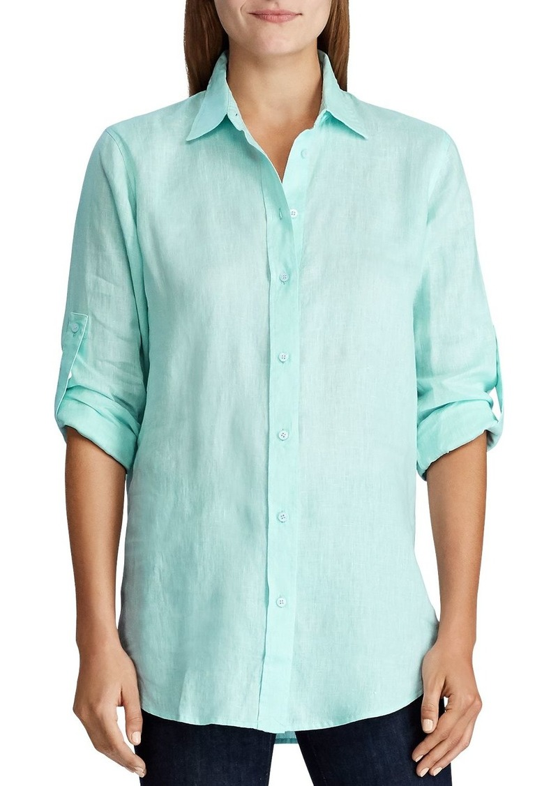 Lauren Ralph Lauren Linen Button-Down Shirt