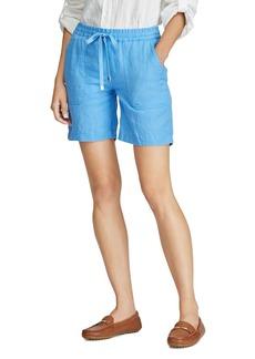 Lauren Ralph Lauren Linen Drawcord Shorts
