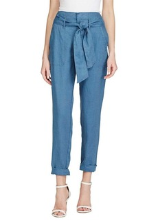 Lauren Ralph Lauren® Linen High-Rise Pants