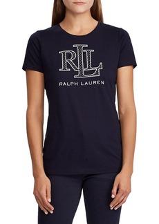 Lauren Ralph Lauren Logo Cotton-Blend Tee
