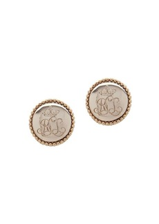 Lauren Ralph Lauren Logo Stud Earrings