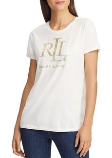 Lauren Ralph Lauren Logo Tee