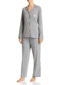 Lauren Ralph Lauren Long Knit Cotton Pajama Set - 100% Exclusive