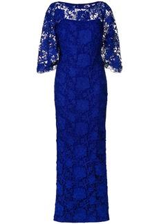 Lauren Ralph Lauren long lace gown - Blue