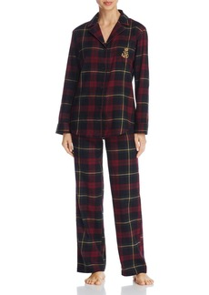 Lauren Ralph Lauren Long PJ Set