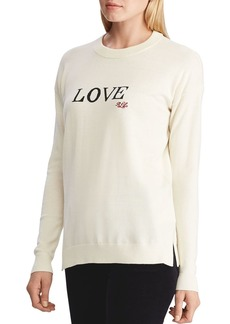 Lauren Ralph Lauren Love Logo Sweater