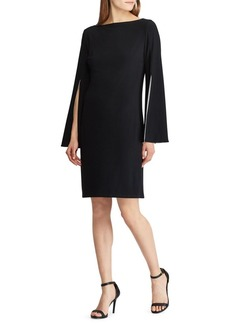 Lauren Ralph Lauren Marisol Slit Sleeve Shift Dress
