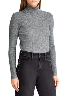 Lauren Ralph Lauren Marled-Knit Turtleneck Sweater