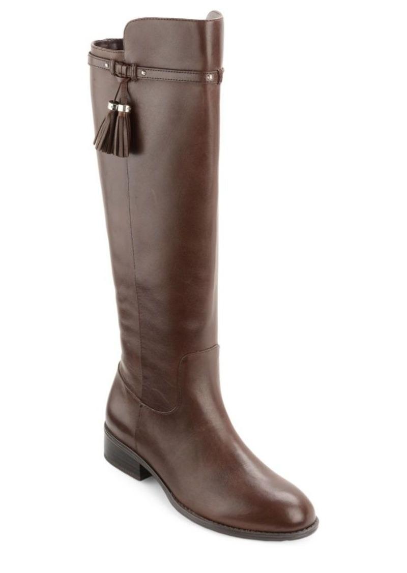 d9a266a8425 Ralph Lauren Lauren Ralph Lauren Marsalis - Wide Calf Leather Riding ...