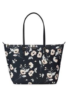 a36ad77516 Ralph Lauren Lauren Ralph Lauren Medium Floral Print Nylon Tote ...