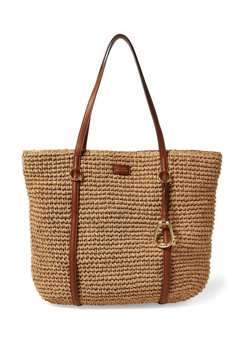 11957ae4c Ralph Lauren Lauren Ralph Lauren Medium Straw Tote Bag | Handbags