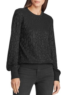 Lauren Ralph Lauren Metallic Jacquard Sweater