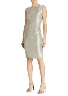 Lauren Ralph Lauren Metallic Sequin Dress