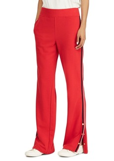 Lauren Ralph Lauren Mid-Rise French Terry Tearaway Pants