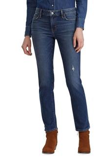 Lauren Ralph Lauren Mid-Rise Relaxed Jeans