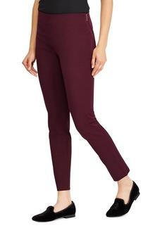 Lauren Ralph Lauren Mid-Rise Skinny-Fit Pants