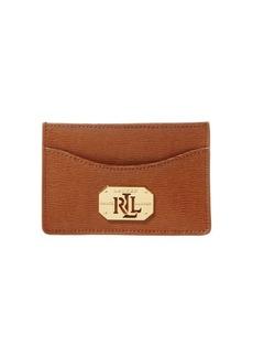Lauren Ralph Lauren Mini Saffiano Leather Card Case