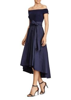 Lauren Ralph Lauren Mixed Media Gown - 100% Exclusive
