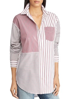 Lauren Ralph Lauren Mixed-Stripe Shirt