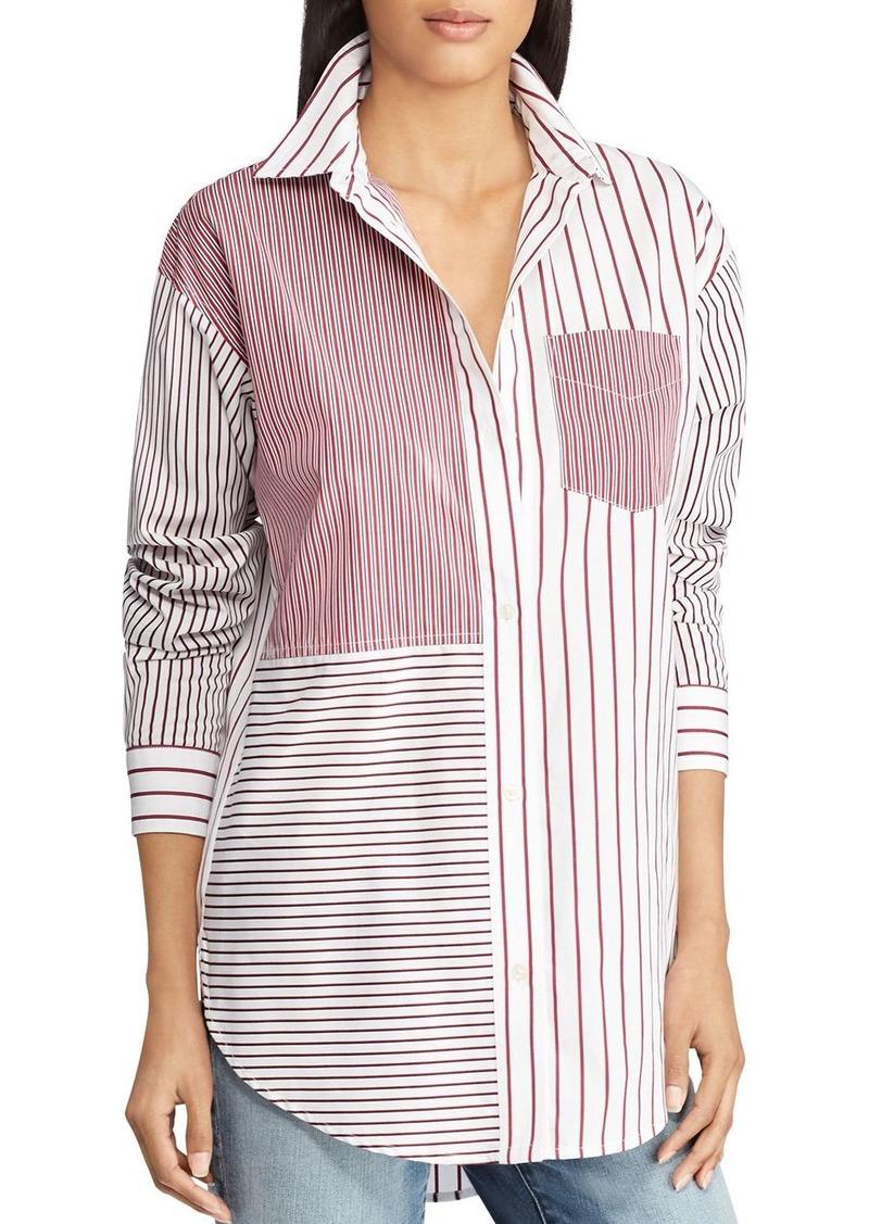 8631af943d Ralph Lauren Lauren Ralph Lauren Mixed-Stripe Shirt | Casual Shirts