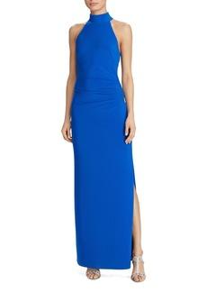 Lauren Ralph Lauren Mock Neck Gown