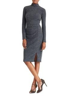 Lauren Ralph Lauren Mock Neck Sheath Dress
