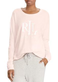 Lauren Ralph Lauren Mono Foil Sweatshirt