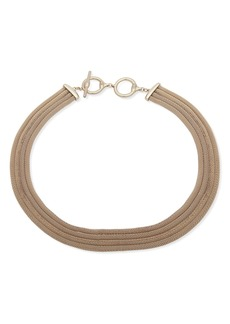 """Lauren Ralph Lauren Multi Row Necklace, 17"""""""