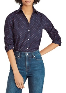 Lauren Ralph Lauren No-Iron Printed Button-Down Shirt