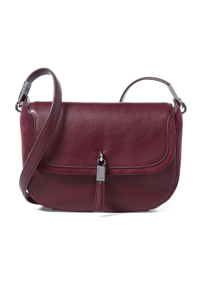 LAUREN RALPH LAUREN Nora Leather Crossbody Bag