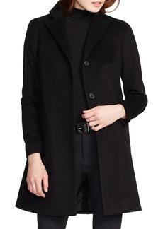 Lauren Ralph Lauren Notch Lapel Buttoned Coat