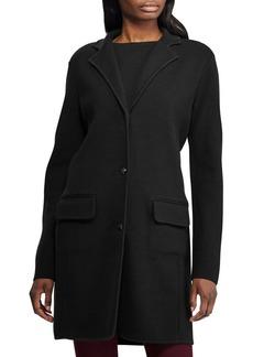 Lauren Ralph Lauren Notch-Lapel Cotton-Blend Coat
