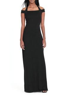 Lauren Ralph Lauren Off-the-Shoulder Gown