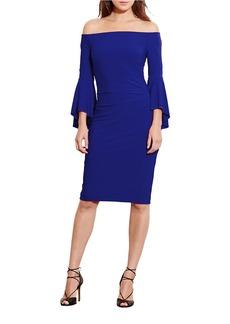LAUREN RALPH LAUREN Off-the-Shoulder Jersey Dress