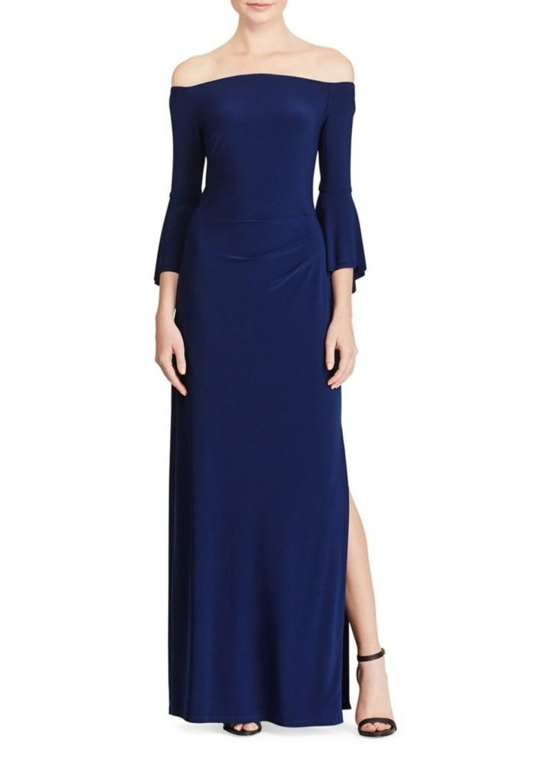 2ca0a508cc10 Ralph Lauren Lauren Ralph Lauren Off-the-Shoulder Jersey Gown | Dresses