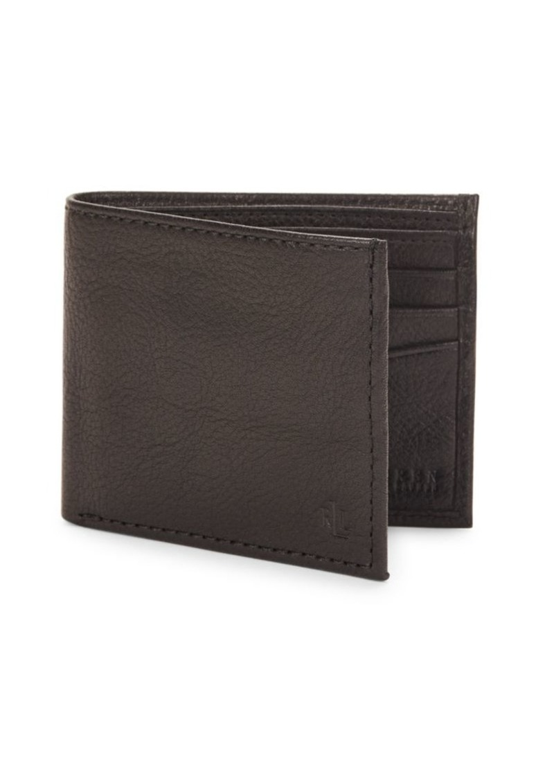 Lauren Ralph Lauren Oil Milled Leather Billfold Wallet