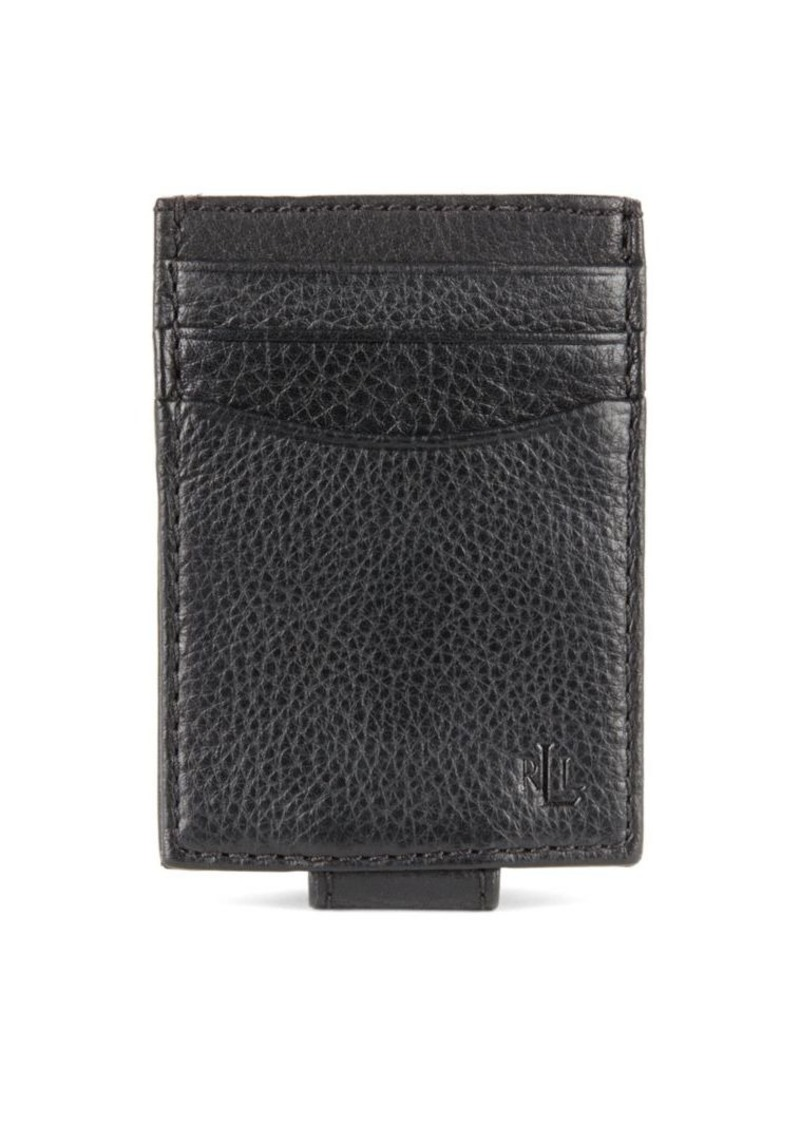 Lauren Ralph Lauren Oil-Milled Leather Passcase Wallet