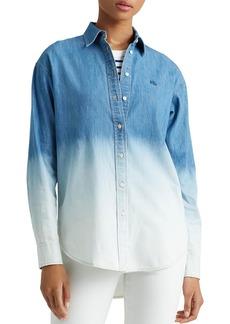 Lauren Ralph Lauren Ombr� Denim Shirt