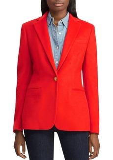 Lauren Ralph Lauren One-Button Blazer