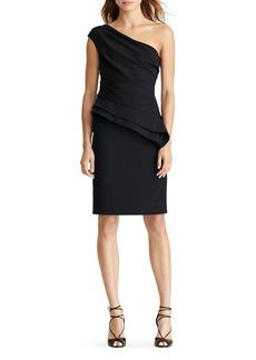 Lauren Ralph Lauren One-Shoulder Dress