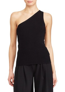 Lauren Ralph Lauren One Shoulder Top