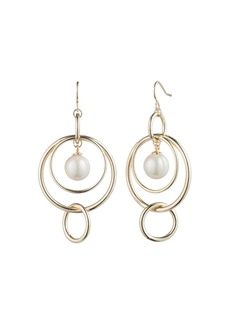 Lauren Ralph Lauren Orbital Linear Drop Earrings