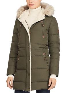 Lauren Ralph Lauren Packable Hooded Down Coat